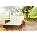 essella Polyrattan Garnitur Milano in Bicolor Braun