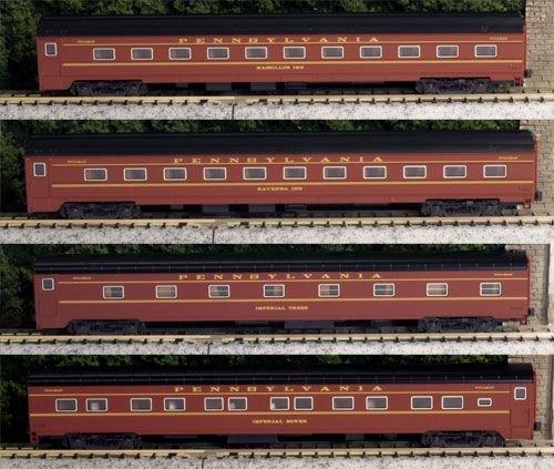 "Kato Usa Model Train Products Pennsylvania Rail Road ""Broadway Limited"" 4-Car Set"