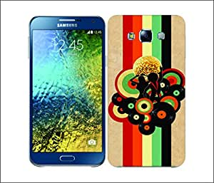 Galaxy Printed 2442 Music Genre Retro Hard Cover for Samsung ACE 3 (7272)