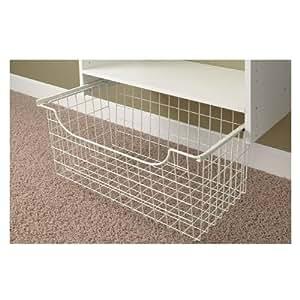 Easy Track 1312 Closet Wire Basket, 12 Inch