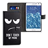 kwmobile Wallet Case Kunstlederhülle für Samsung Galaxy