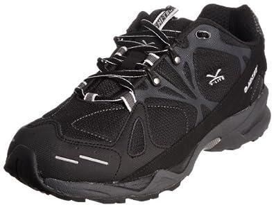 Hi-Tec Men's V-Lite Blackhawk Black/Dark Grey/Silver Trainer O000852/021/01 7 UK