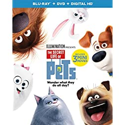 The Secret Life of Pets [Blu-ray + DVD]