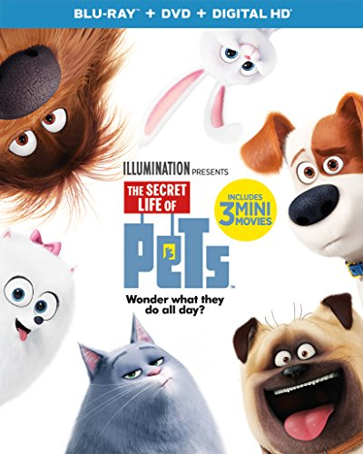 Secret Life of Pets [USA] [Blu-ray]