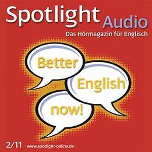 Spotlight Audio - Word partnerships. 2/2011. Englisch lernen Audio - Kollokationen Hörbuch