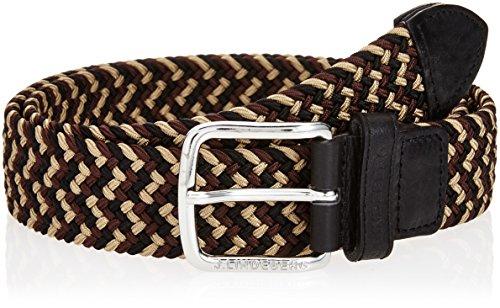 (ジェイリンドバーグ)J.LINDEBERG ベルトメンズ Chap Elastic Braid 073-61304 19 ブラック 95
