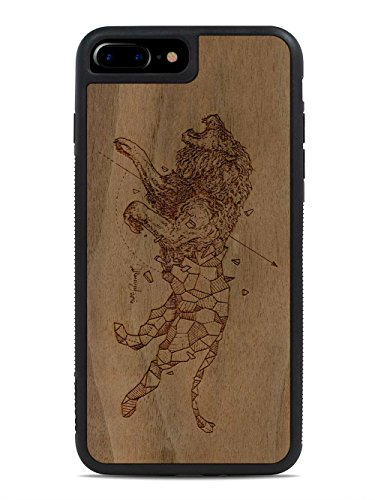 kerby-rosanes-geometric-lion-by-carved-apple-iphone-7-plus-wood-traveler-case-black-protective-bumpe