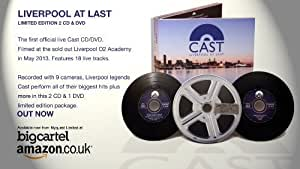 Cast Live Liverpool At Last Limited Edition Triple disc CD/DVD Final 50 copies.