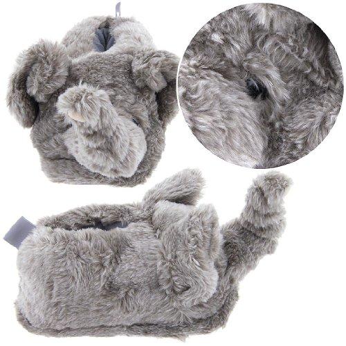 Image of Elephant Animal Slippers for Women (B00869DIV0)