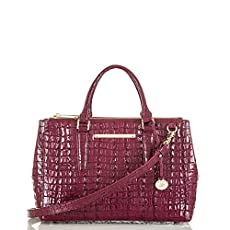 Small Lincoln Satchel<br>Boysenberry La Scala