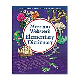 Merriam Webster - 2 Pack - Elementary Dictionary Grades 2-4 Hardcover 624 Pages \