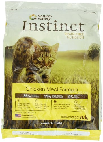 Detail image Instinct Grain-Free Chicken Meal Dry Cat Food by Nature's Variety, 12.1-Pound Package