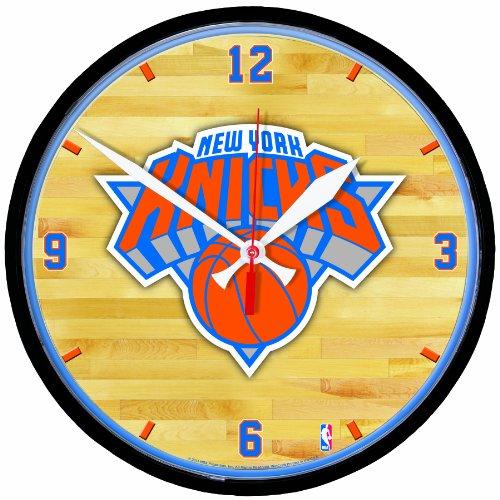 Nba New York Knicks Round Clock