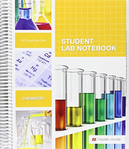 Student Lab Notebook: 100 Spiral Bound duplicate pages(Package may vary) (Package Of Notebooks compare prices)