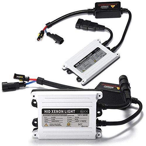 Zento Deals 2 Pieces of Universal Fit AC Digital Bi-Xenon HID Ballast Replacement Kit 55W 2k HID (Advance Auto Gift Card compare prices)