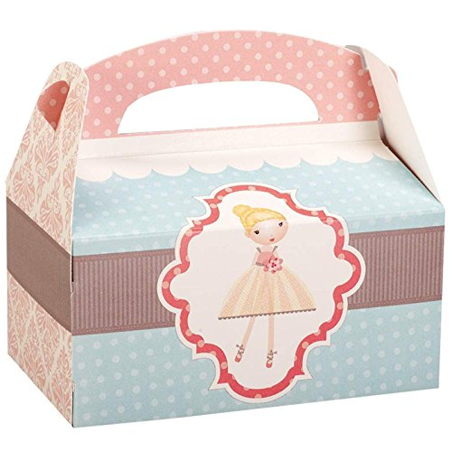 Ballerina Tutu Empty Favor Boxes (4) - 1