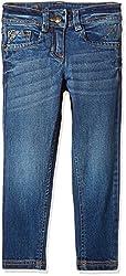 UFO Girls' Jeans (AW-16-DF-GKT-393_Indigo Dark_14 - 15 years)