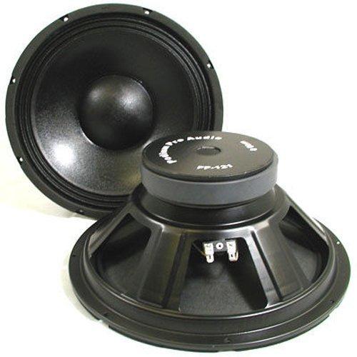 Podium Pro Pp121 12-Inch Pair Subwoofers Pro Audio Dj Pa Karaoke Band Replacement