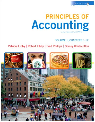 Loose-leaf Principles of Accounting Volume 1 Ch 1-12 with Annual Report
