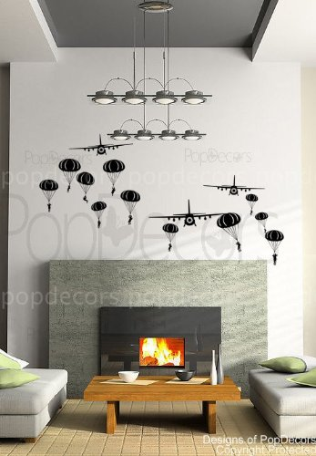 popdecors fallschirmj ger luft und flugzeuge beautiful. Black Bedroom Furniture Sets. Home Design Ideas