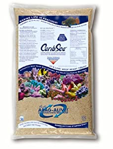 CaribSea Arag-Alive 20-Pound Special Grade Reef Sand, Fiji Pink