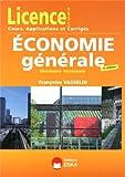 Economie générale, microéconomie, macroéconomie Licence L1 L2 L3