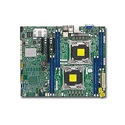Supermicro Dual LGA2011 Intel C612 DDR4 SATA3 SAS3 USB3.0 V 2GbE ATX Server Motherboard X10DRL-C-O