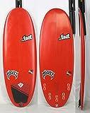 """LOST(ロスト)MAYHEM Bean Bag モデル サーフボード [RED] 5'0"""" メイヘム 5プラグ  ミニレングス"""