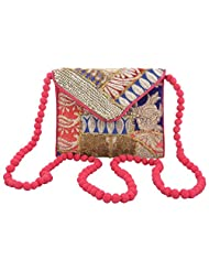 Rajasthani Handicrafted Multi Color Embroided Stylish Bag Christmas And New Year Sale - B017EQS4JQ