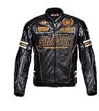 シンプソン(SIMPSON) ウィンタージャケット BLACK/GOLD LL SJ-4133ANV