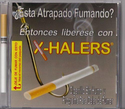 X-Halers Smokeless Cigarette (Nicotine-Free) And Cd Stop Smoking Program In Spanish (En Espanol)