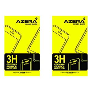 Brand Azera (TM) High Quality Clear Screen Guard For Huwai Ascend p-8 (Pack of 2)