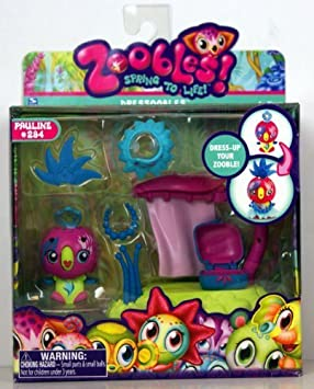 Zoobles - Spring To Life - Dressoobles - #294 Pauline by Spin Master (English Manual)