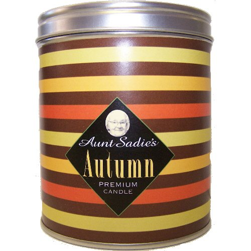 Aunt Sadie's Autumn Stripes Candle