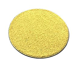 Childrens Story-Time Floor Carpet Seat (2 Foot Round) (7, Bright Yellow)