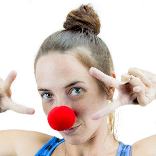 Novelty Red Foam Clown Nose By Pudgy Pedro's Party Supplies - 1