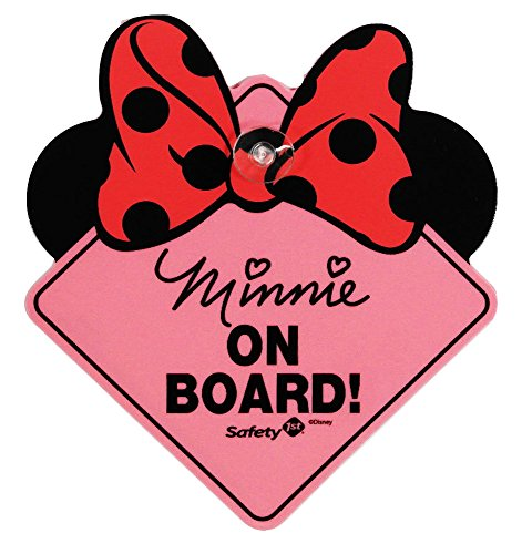 Disney Minnie Mouse On Board Sign - 1