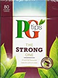 PG Tips The Strong One Pyramid Tea Bags (80 Bags) NEW