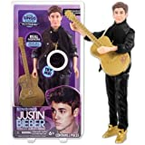 Justin Bieber Singing 'Boyfriend' 30cm Doll & Guitar (Black Outfit)