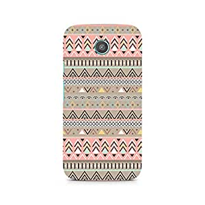 Motivatebox- Tribal Chic11 Premium Printed Case For Moto G -Matte Polycarbonate 3D Hard case Mobile Cell Phone Protective BACK CASE COVER. Hard Shockproof Scratch-