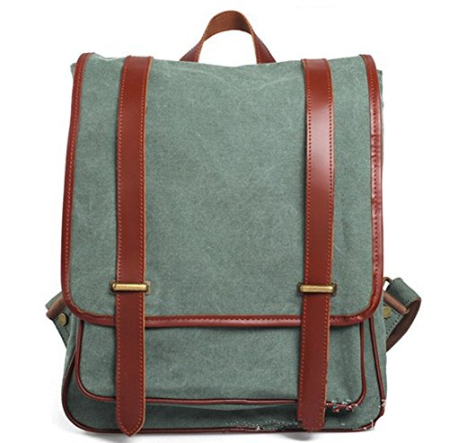 Sechunk Canvas Backpack Green