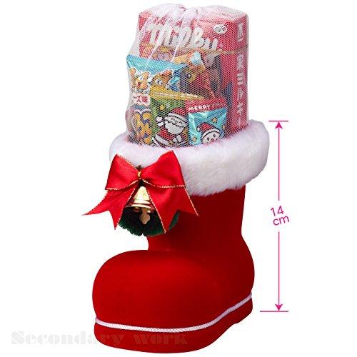 クリスマスブーツ(大)お菓子入【まとめ売り】20個