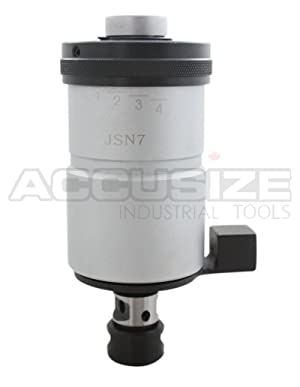 Accusize Industrial Tools 0-1/4'' Self-Reversing Tapping Head, Jt6 Jacobs Taper, 2600-4002