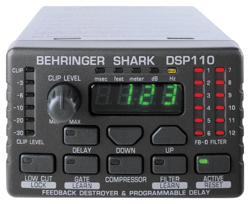 Behringer Shark DSP110 Digital 24-Bit Multi-Function Signal Processor (Behringer Shark compare prices)