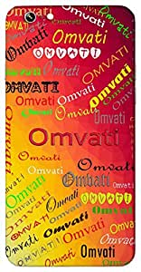 Omvati (Popular Girl Name) Name & Sign Printed All over customize & Personalized!! Protective back cover for your Smart Phone : Apple iPhone 7