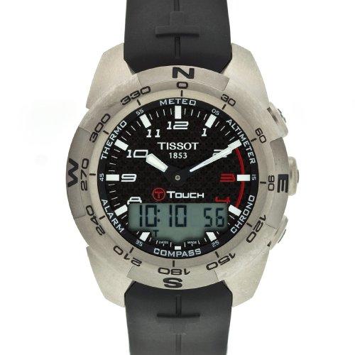 Tissot Men's T0134204720200 T-Touch Expert III Watch