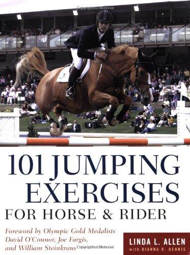 : 101 exercices de saut de cheval et le cavalier