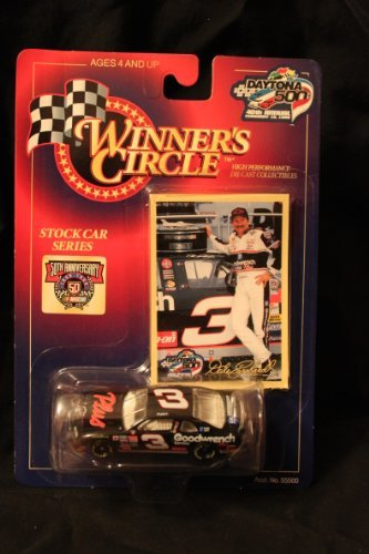 Winner's Circle Dale Earnhardt 1/64 #3 Daytona 500 40th Annual diecast and collector's trading card - 1