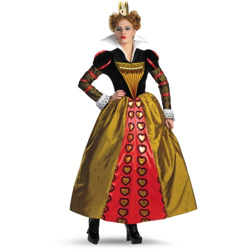 Disguise Inc Women's Alice In Wonderland Movie Deluxe Queen Adult Costume