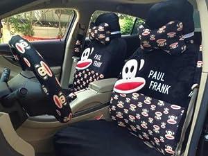 Super Cheap Paul Frank 18pcs Soft Plush Black Universal